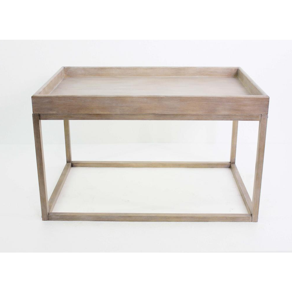 Light Brown Wood Coffee Table Within 2019 Solid Hardwood Rectangle Mid Century Modern Coffee Tables (View 11 of 20)