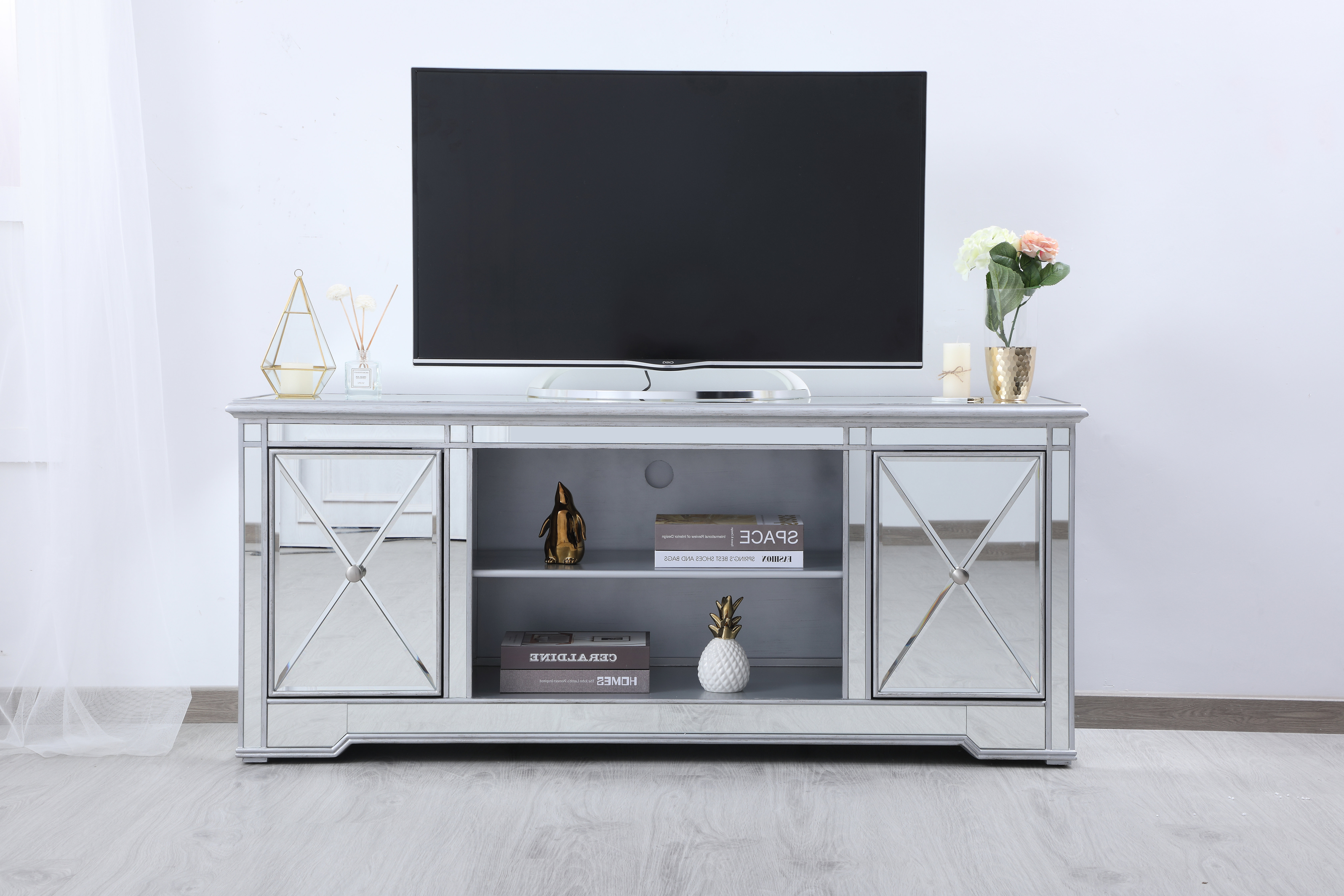 """Lilianna Tv Stand For Tvs Up To 60"""" In Parmelee Tv Stands For Tvs Up To 65"""" (View 5 of 20)"""