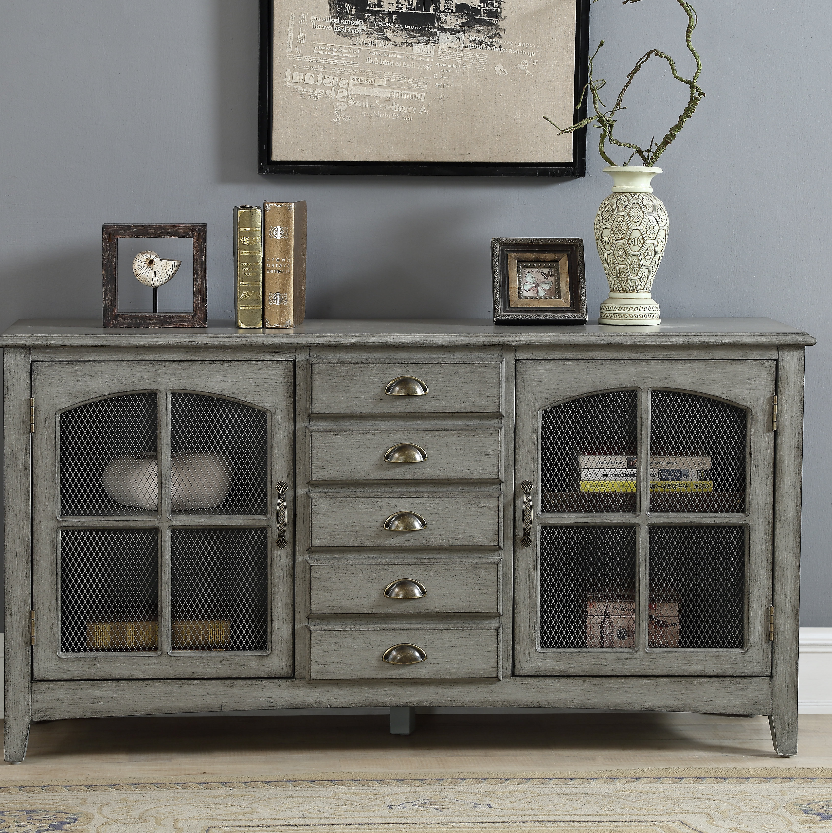 Living Room Credenza | Wayfair Pertaining To Deana Credenzas (View 10 of 20)