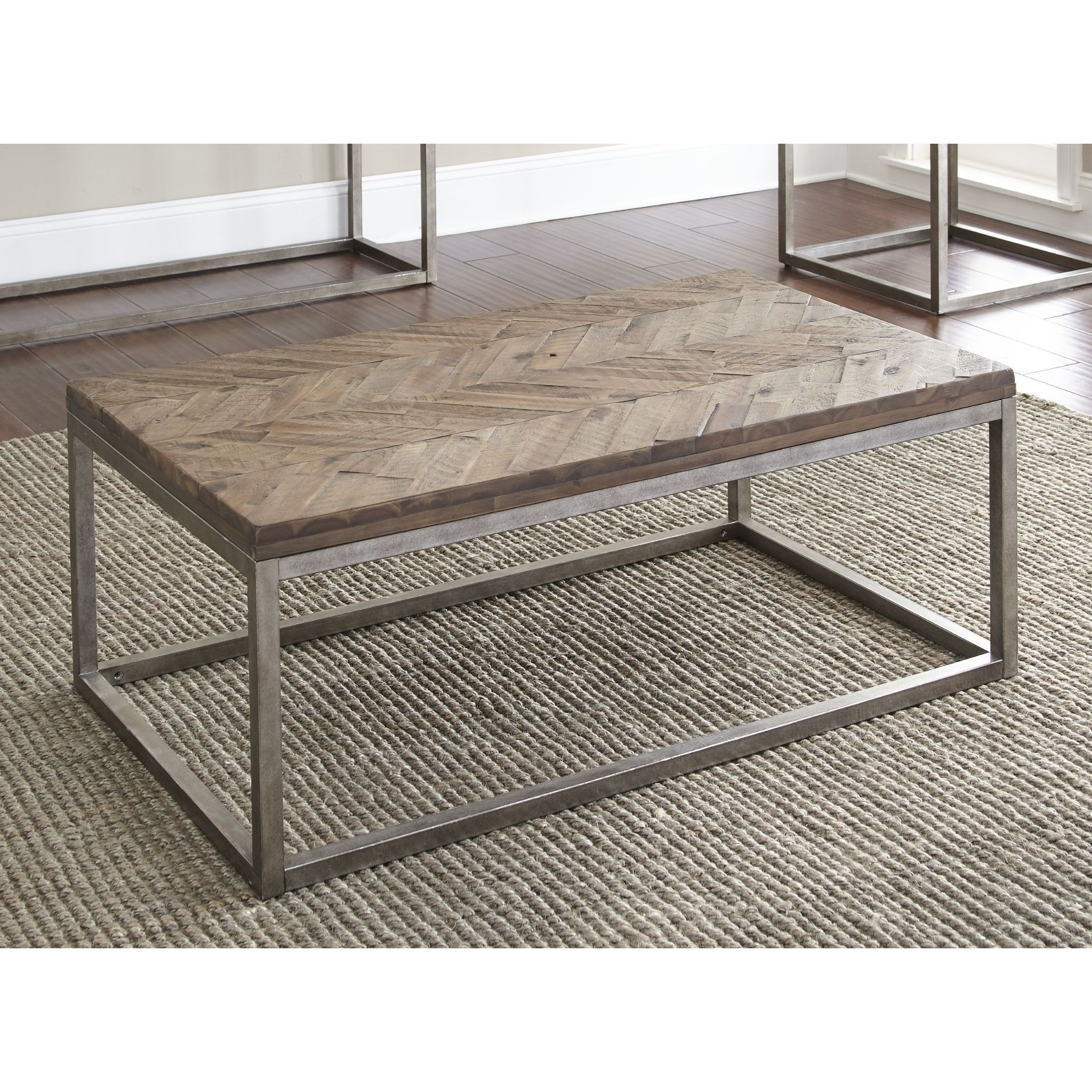 Lockwood 48 Inch Rectangle Coffee Tablegreyson Living Intended For Favorite Lockwood Rectangle Coffee Tables (View 12 of 20)