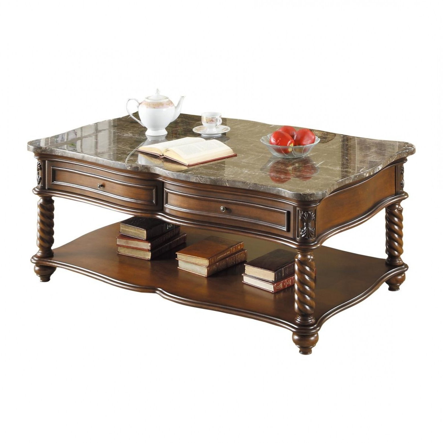 Lockwood Marble Coffee Table Pertaining To Most Recently Released Lockwood Rectangle Coffee Tables (View 14 of 20)