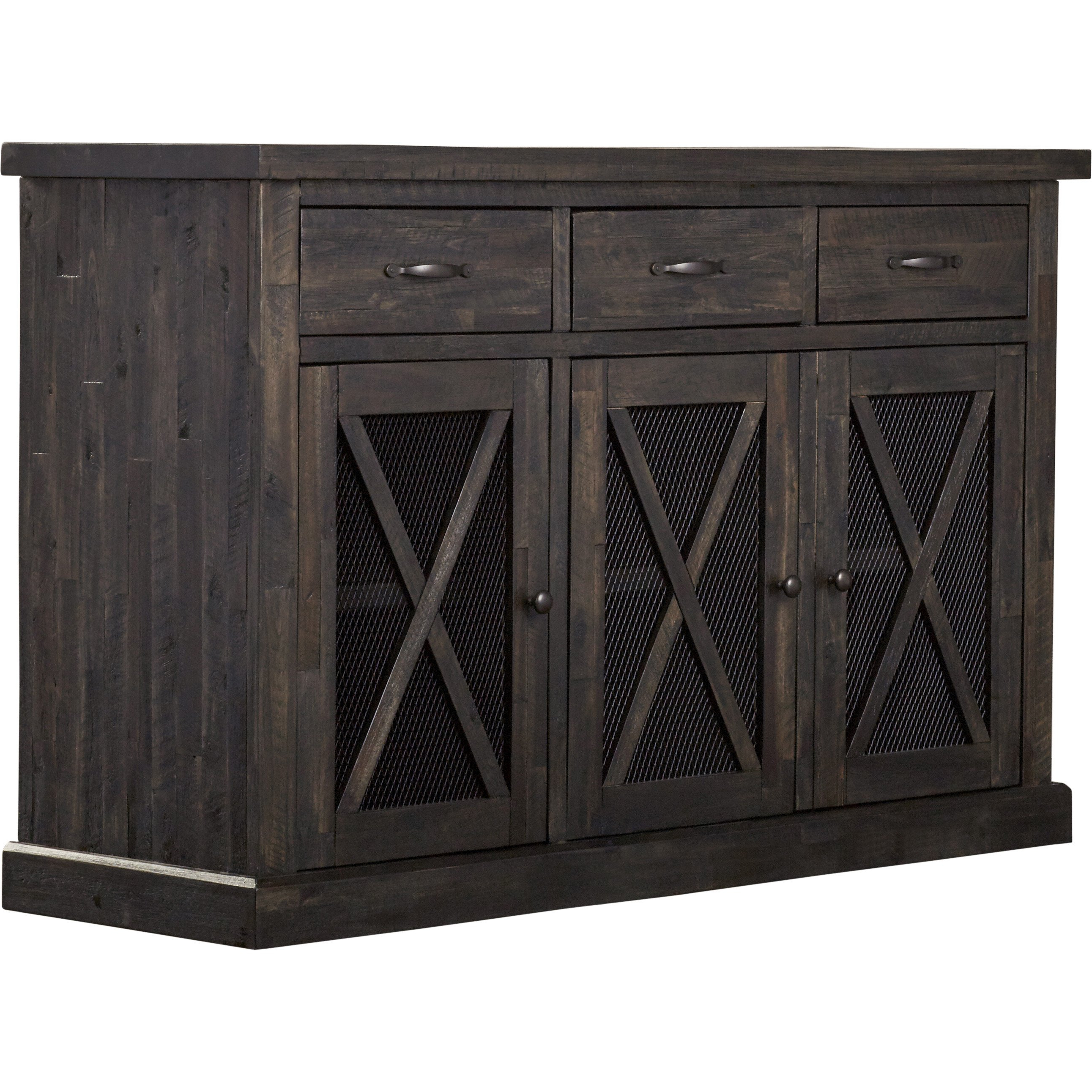 Loon Peak Todd Creek Sideboard Reviews Wayfair Sideboard Pertaining To Seiling Sideboards (View 14 of 20)
