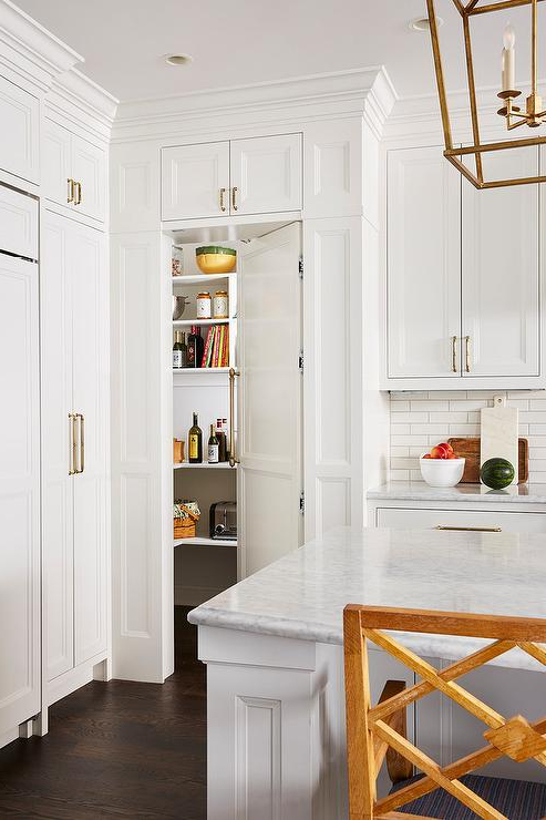 Lotus Kitchen Pantry For Well Known Gold Kitchen Accents Design Ideas (View 7 of 20)