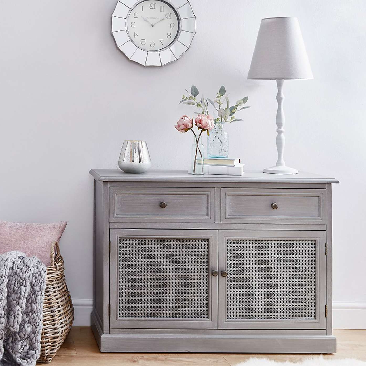 Lucy Cane Grey Small Sideboard | Living Room Ideas In 2019 Within Hayter Sideboards (View 4 of 20)