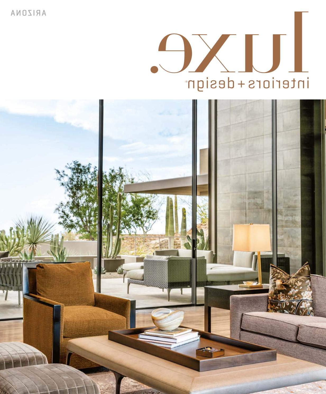 Luxe Magazine November 2016 Arizonasandow® – Issuu Pertaining To Well Liked Copper Grove Obsidian Black Tempered Glass Apartment Coffee Tables (View 11 of 20)