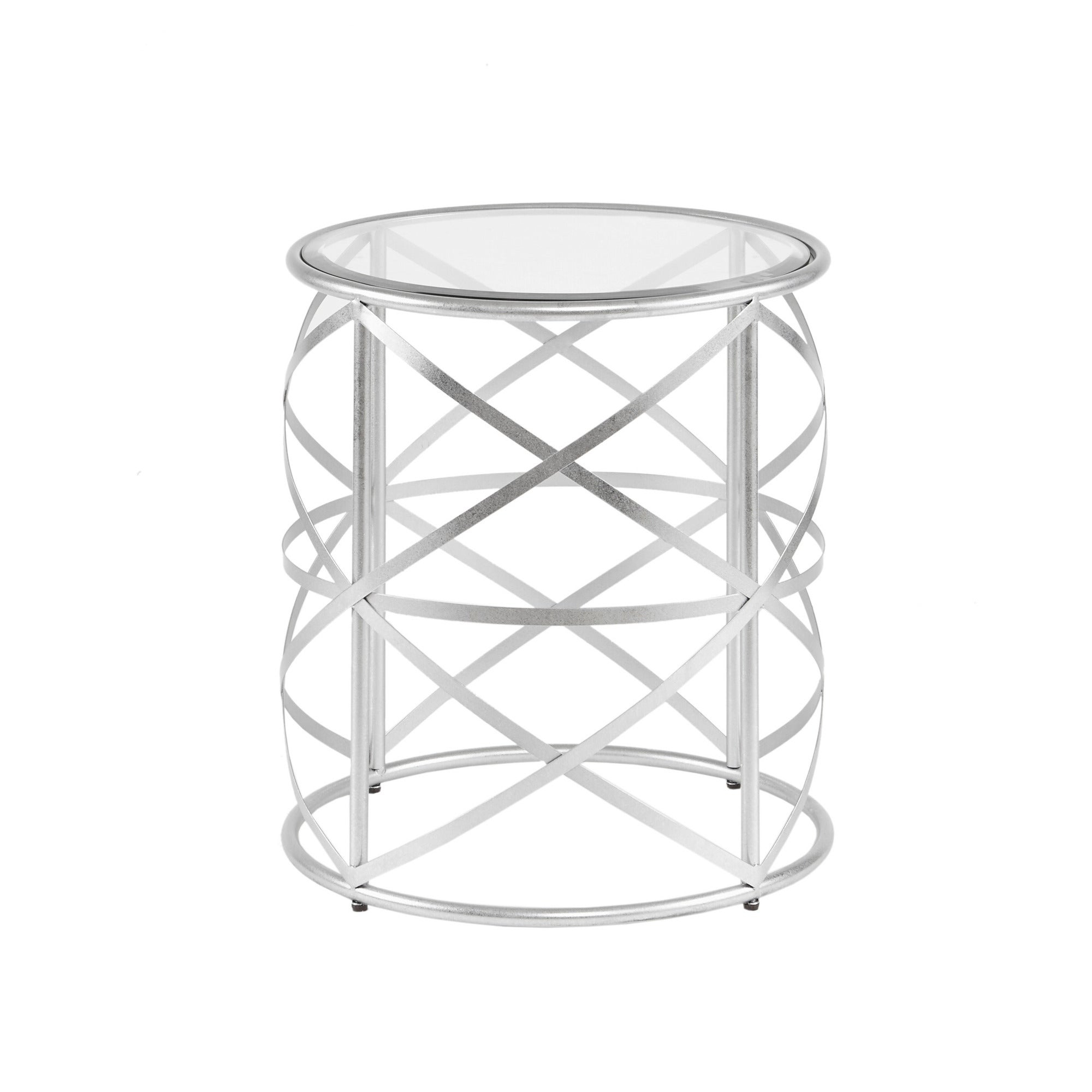 "Madison Park Susie Glam Accent Table 2 Color Option – 20""w X 20""d X 21""h Inside Widely Used Madison Park Susie Coffee Tables 2 Color Option (View 11 of 20)"