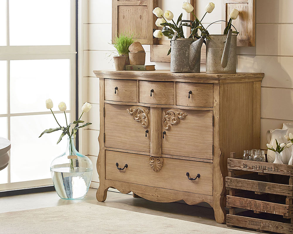 Magnolia Home Furniture Golden Era Sideboard – Knoxville Intended For Knoxville Sideboards (View 8 of 20)