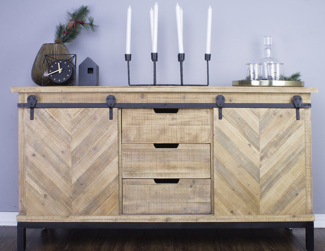Marchese Credenza In 2019 | Scherf Living Room Furniture With Regard To Lowrey Credenzas (View 12 of 20)