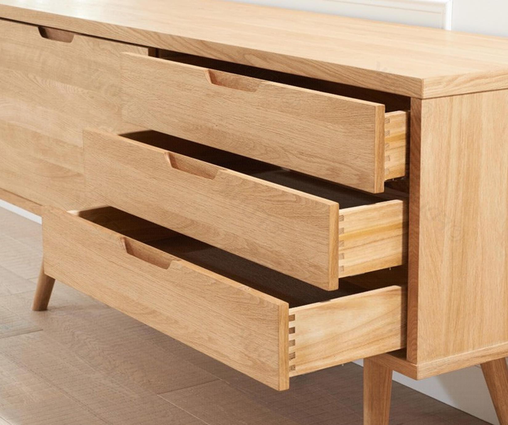 Mark Harris Tribeca Solid Oak Sideboard For Tribeca Sideboards (View 18 of 20)