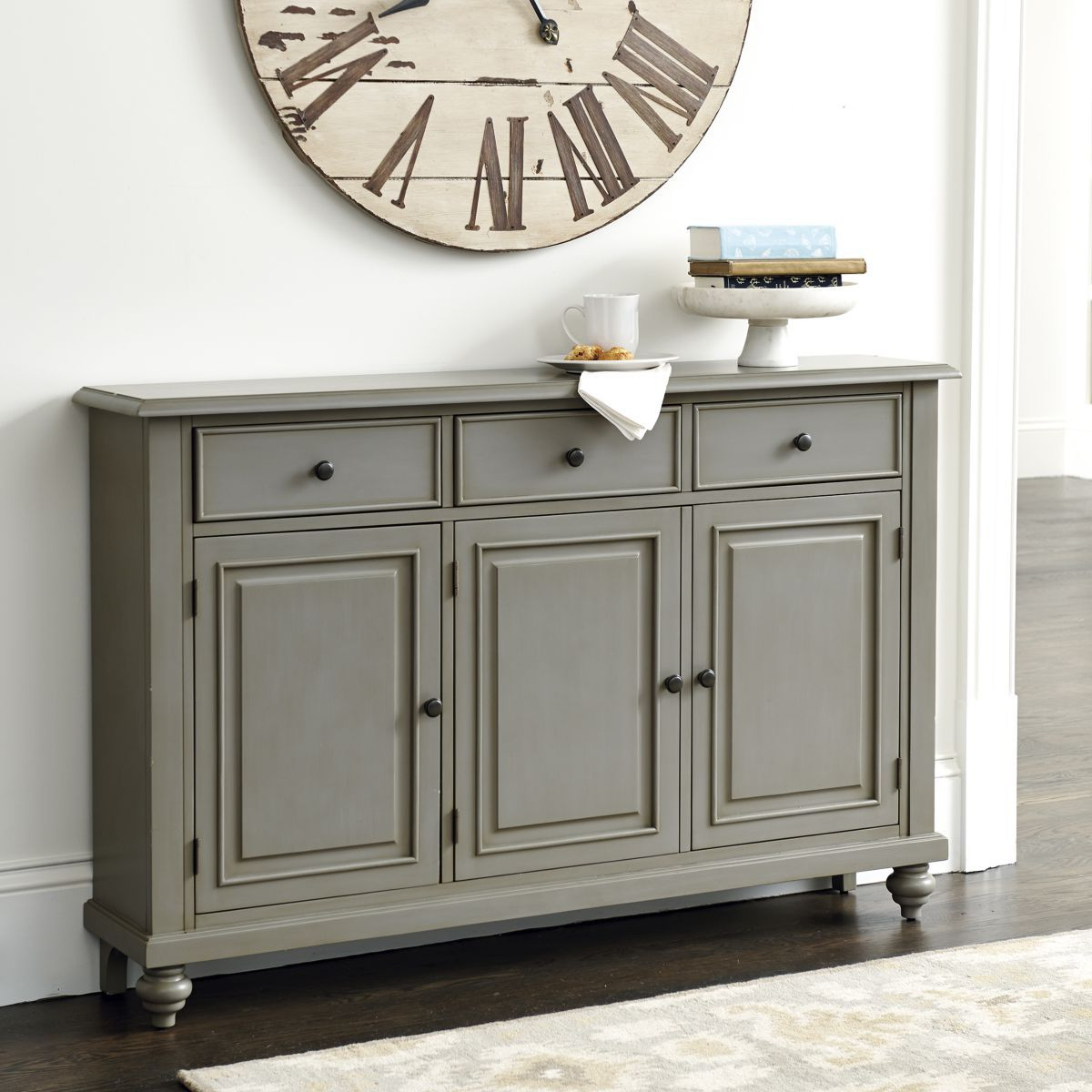 Martin 3 Door Console Table | Family Room Wall In 2019 Throughout Giulia 3 Drawer Credenzas (View 12 of 20)