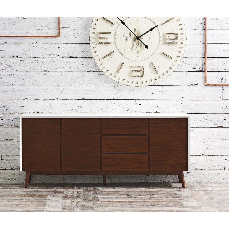 Metro 3 Drawer 3 Door Buffet From Domayne Online | Furniture Regarding Metro Sideboards (View 10 of 20)