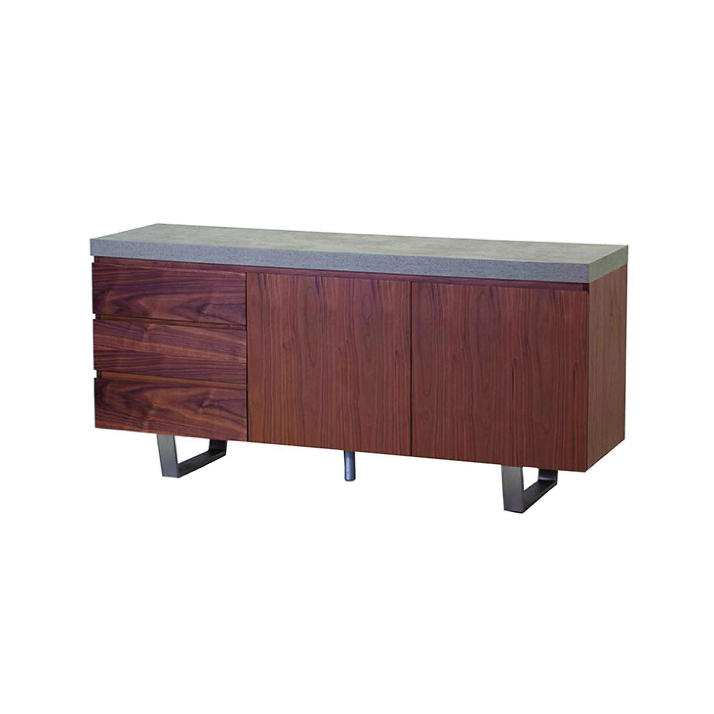 Metro Wide Sideboard With Metro Sideboards (View 14 of 20)