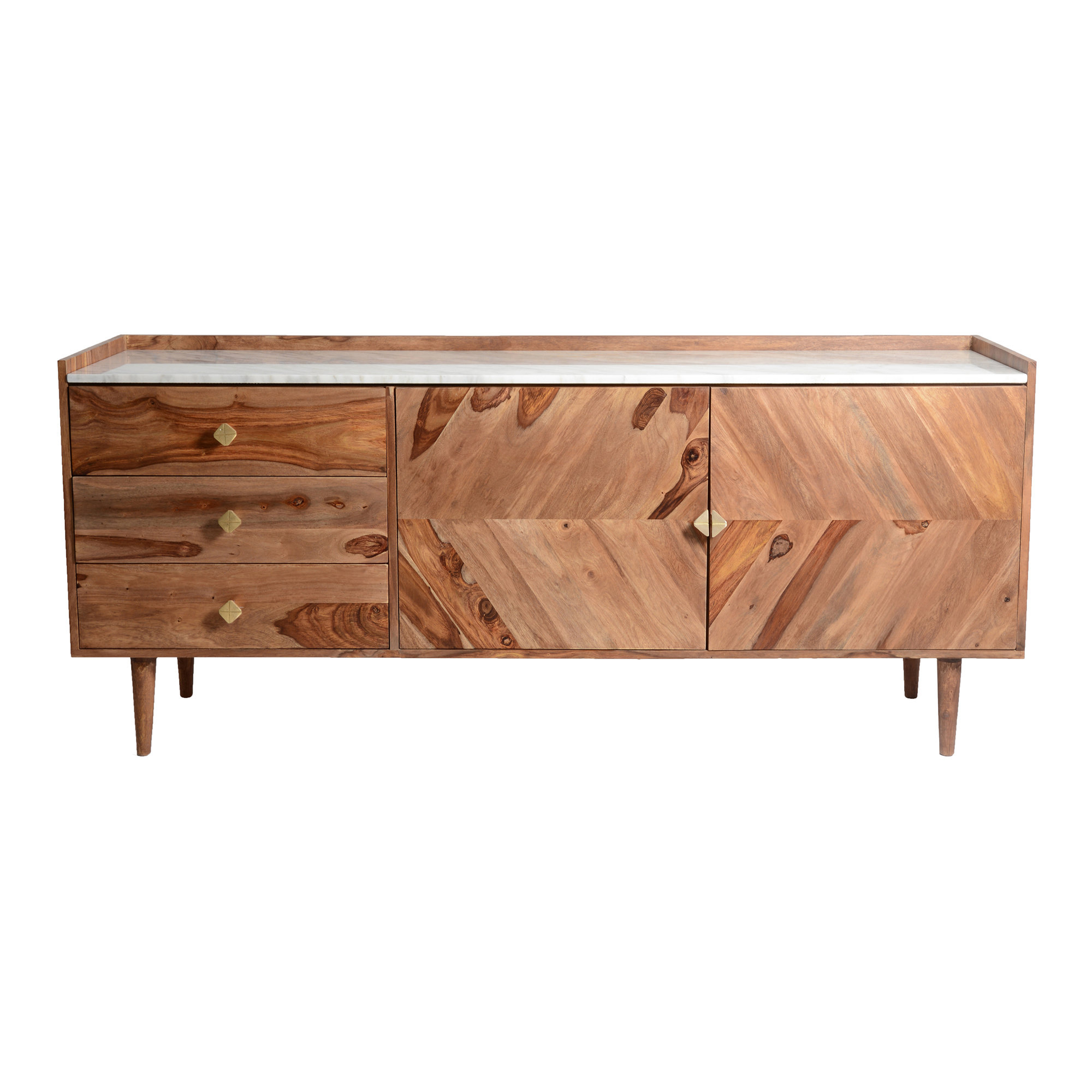 Mid Century Modern Sideboard / Credenza Sideboards & Buffets For Longley Sideboards (View 10 of 20)