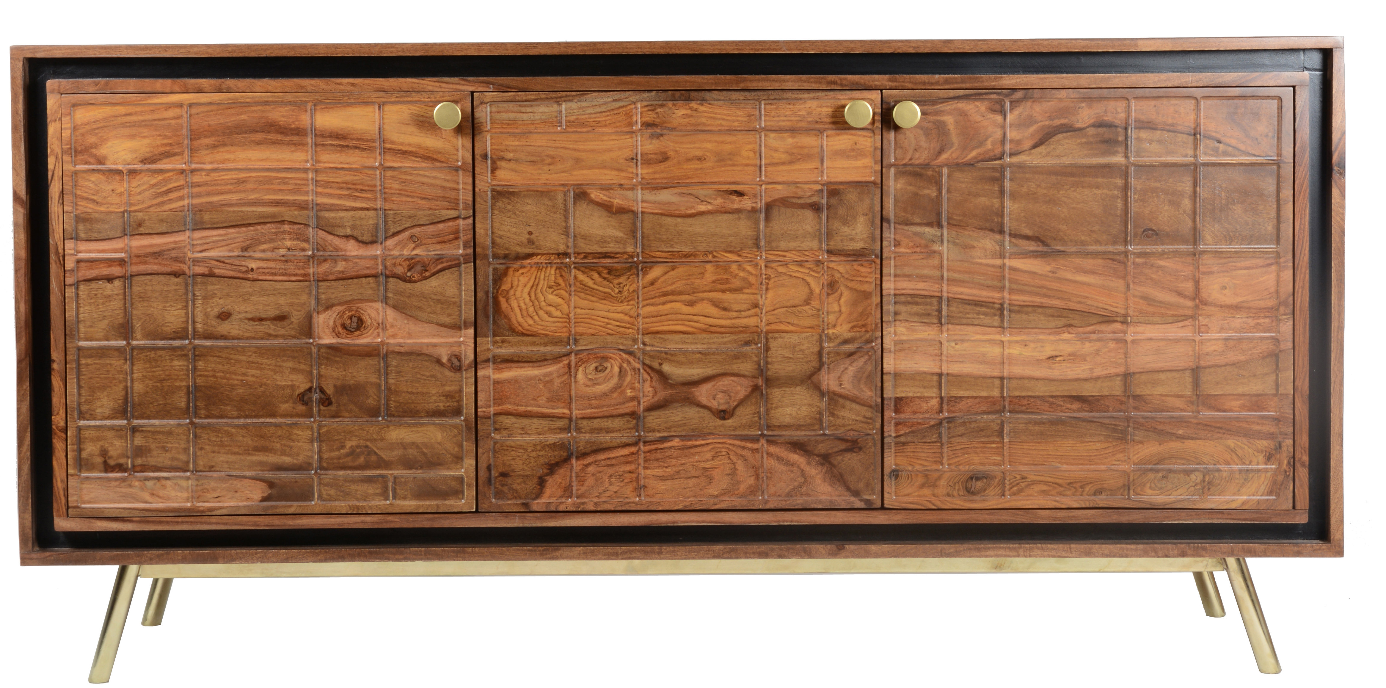 Mid Century Modern Sideboard / Credenza Sideboards & Buffets Within Longley Sideboards (View 11 of 20)