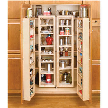 Milford Kitchen Pantry Intended For Trendy Rev A Shelf Swing Out Tall Kitchen Cabinet Chef's Pantries (View 12 of 20)