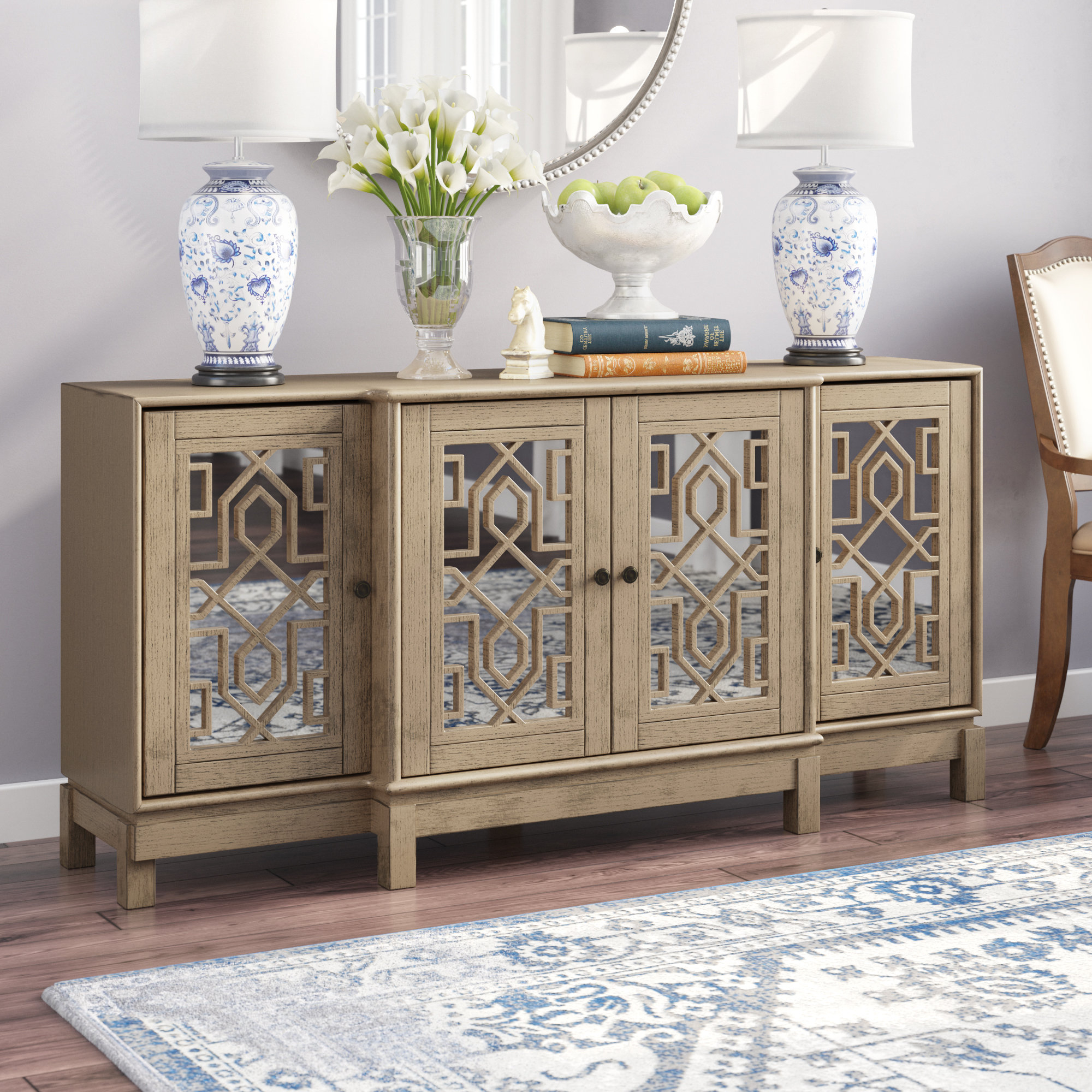 Mirrored Sideboard & Buffet Tables You'll Love In 2019 | Wayfair Pertaining To Weinberger Sideboards (View 10 of 20)