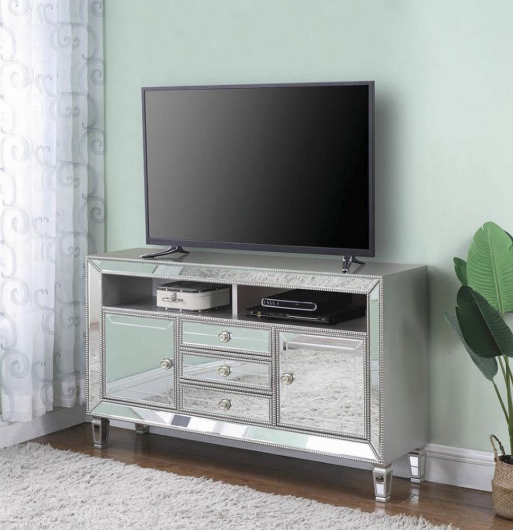 "Mirrored Tv Stands & Entertainment Centers You'll Love In With Regard To Parmelee Tv Stands For Tvs Up To 65"" (View 11 of 20)"
