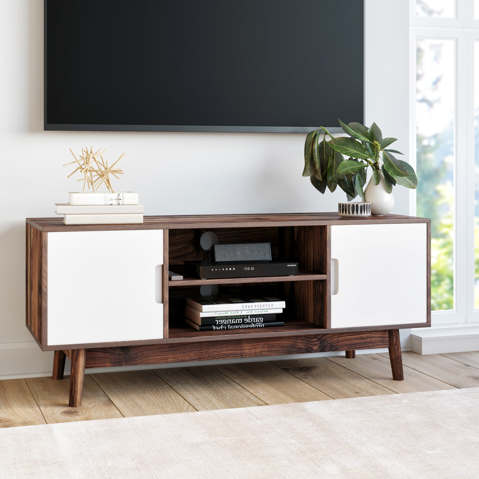 "Modern & Contemporary Hokku Designs Shoe Cabinet | Allmodern In Ericka Tv Stands For Tvs Up To 42"" (View 16 of 20)"