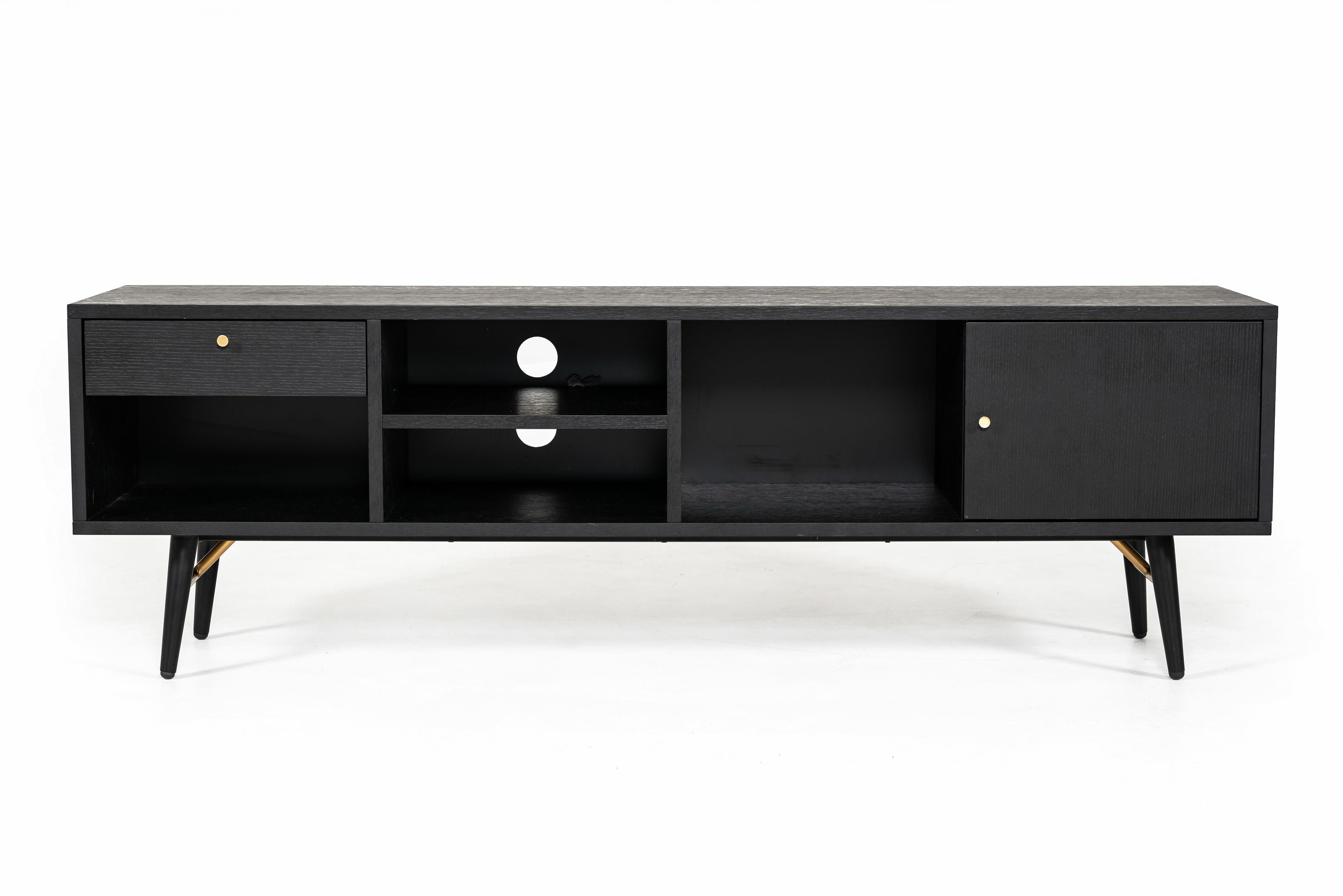 Modern & Contemporary Kieth 4 Door Credenza | Allmodern Pertaining To Kieth 4 Door Credenzas (View 11 of 20)