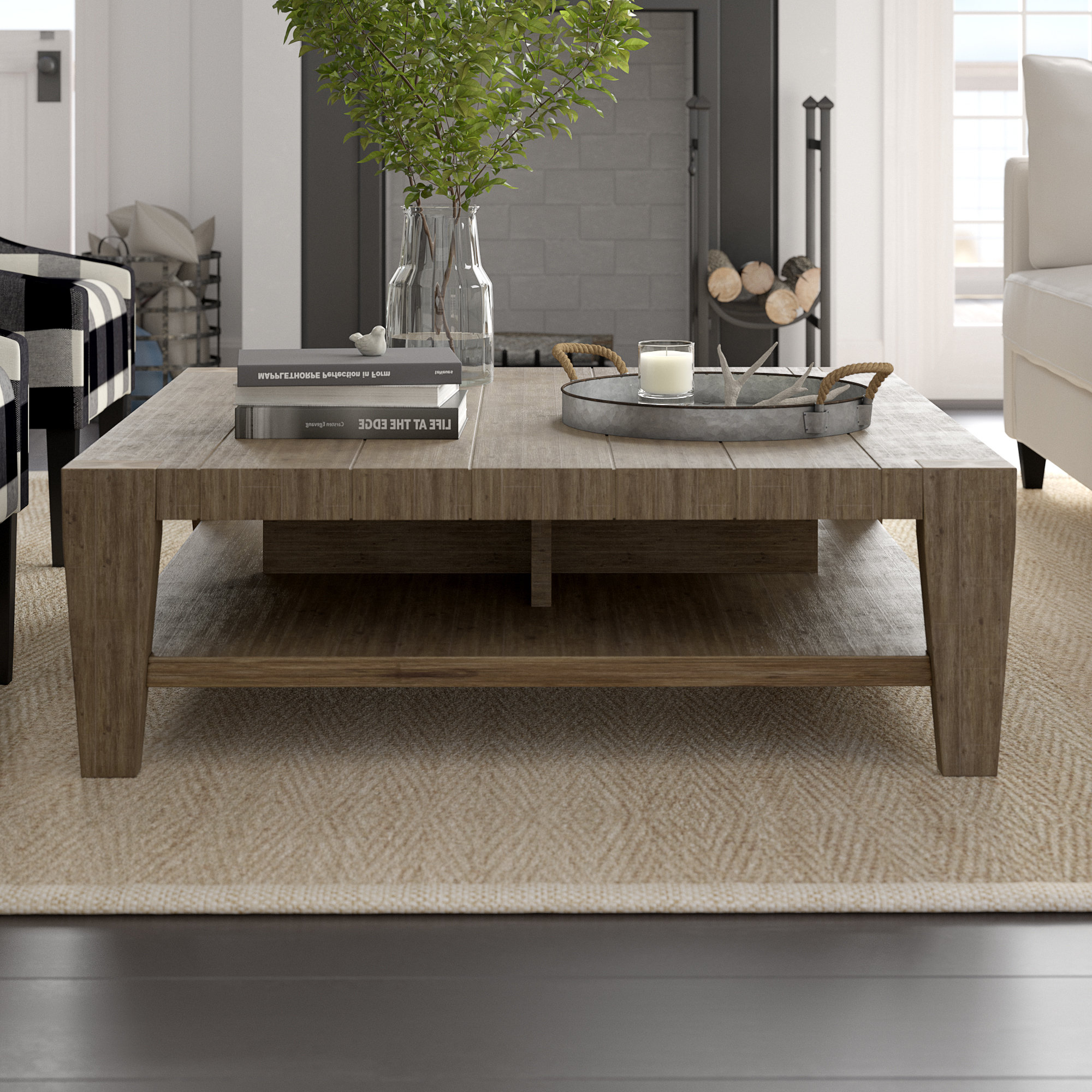 Modern & Contemporary Low Profile Table (View 18 of 20)