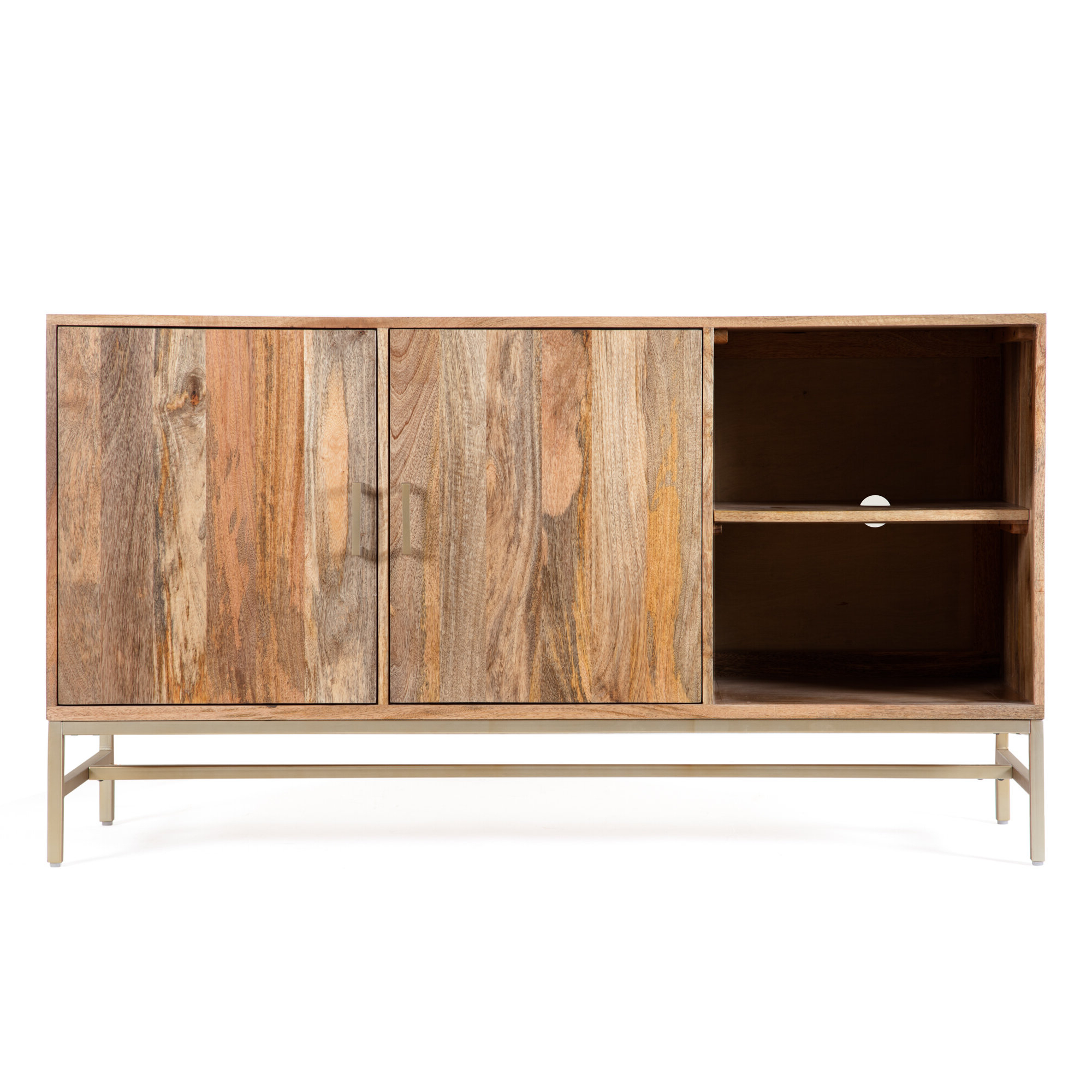 Modern & Contemporary Media Credenza | Allmodern Intended For Lainey Credenzas (View 15 of 20)