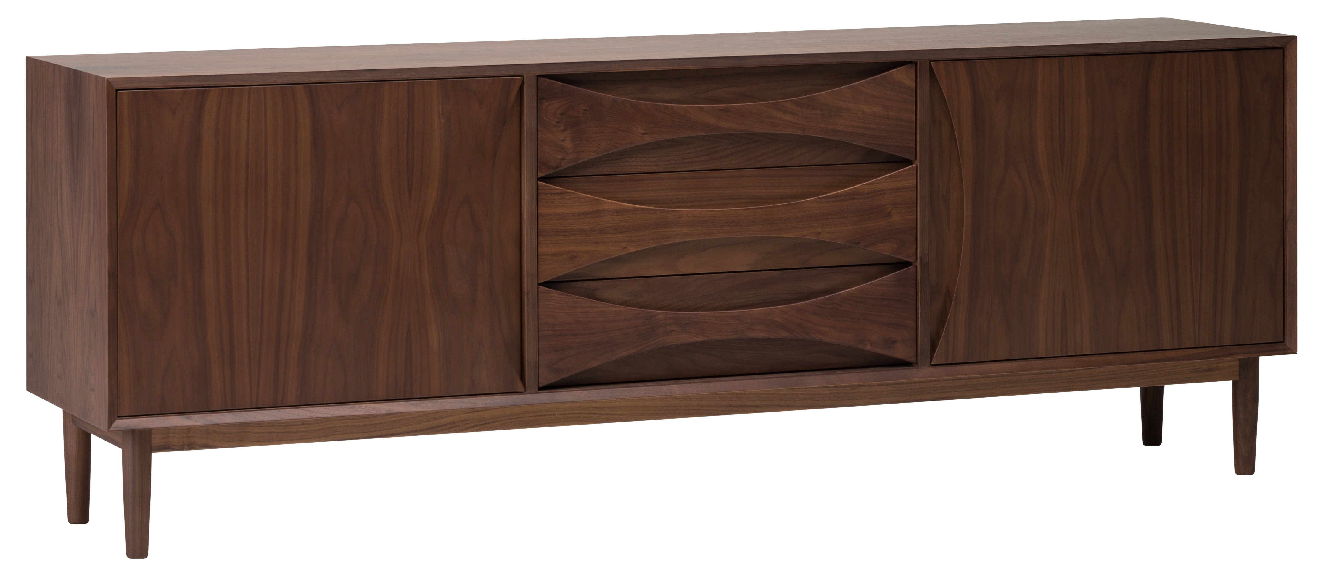 Modern & Contemporary Medina 4 Door Credenza | Allmodern Inside Kieth 4 Door Credenzas (View 9 of 20)