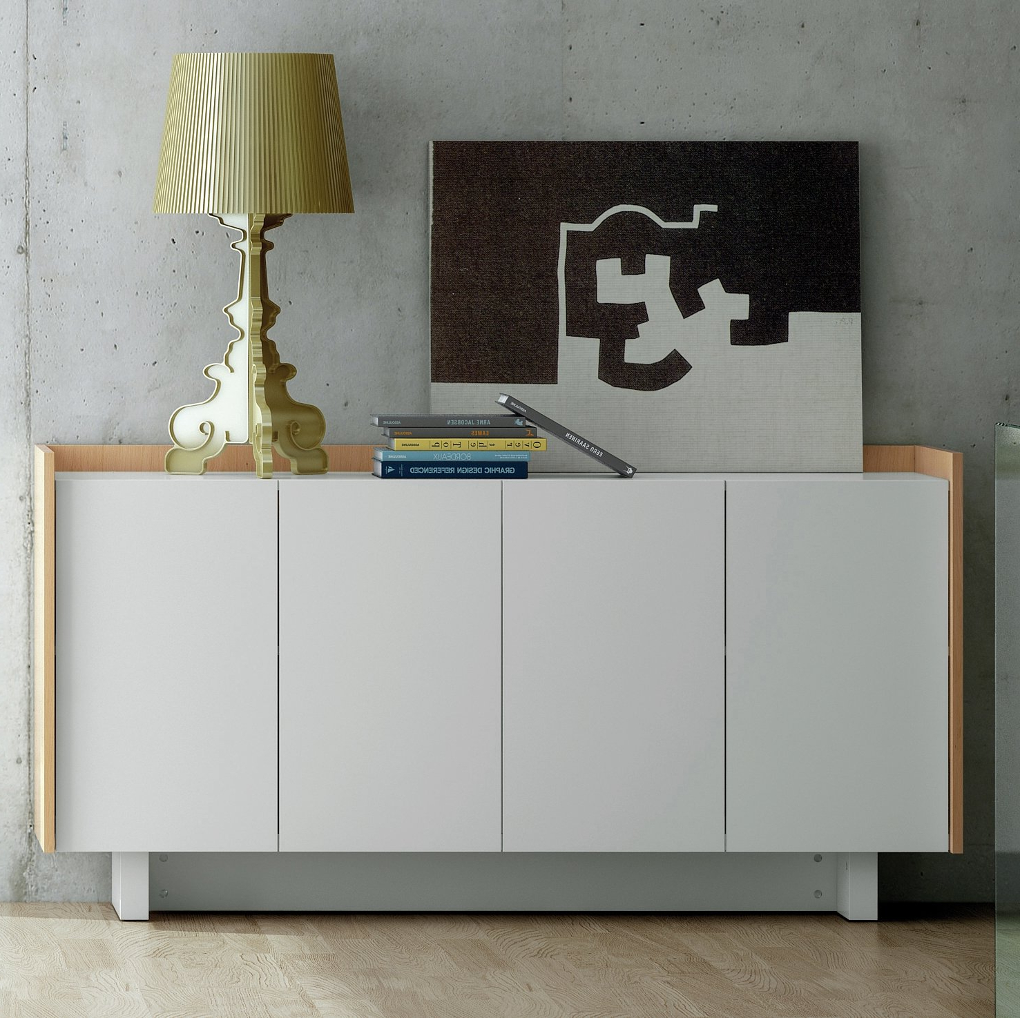 Modern & Contemporary White Sideboards & Buffets You'll Love With Regard To Womack Sideboards (View 5 of 20)