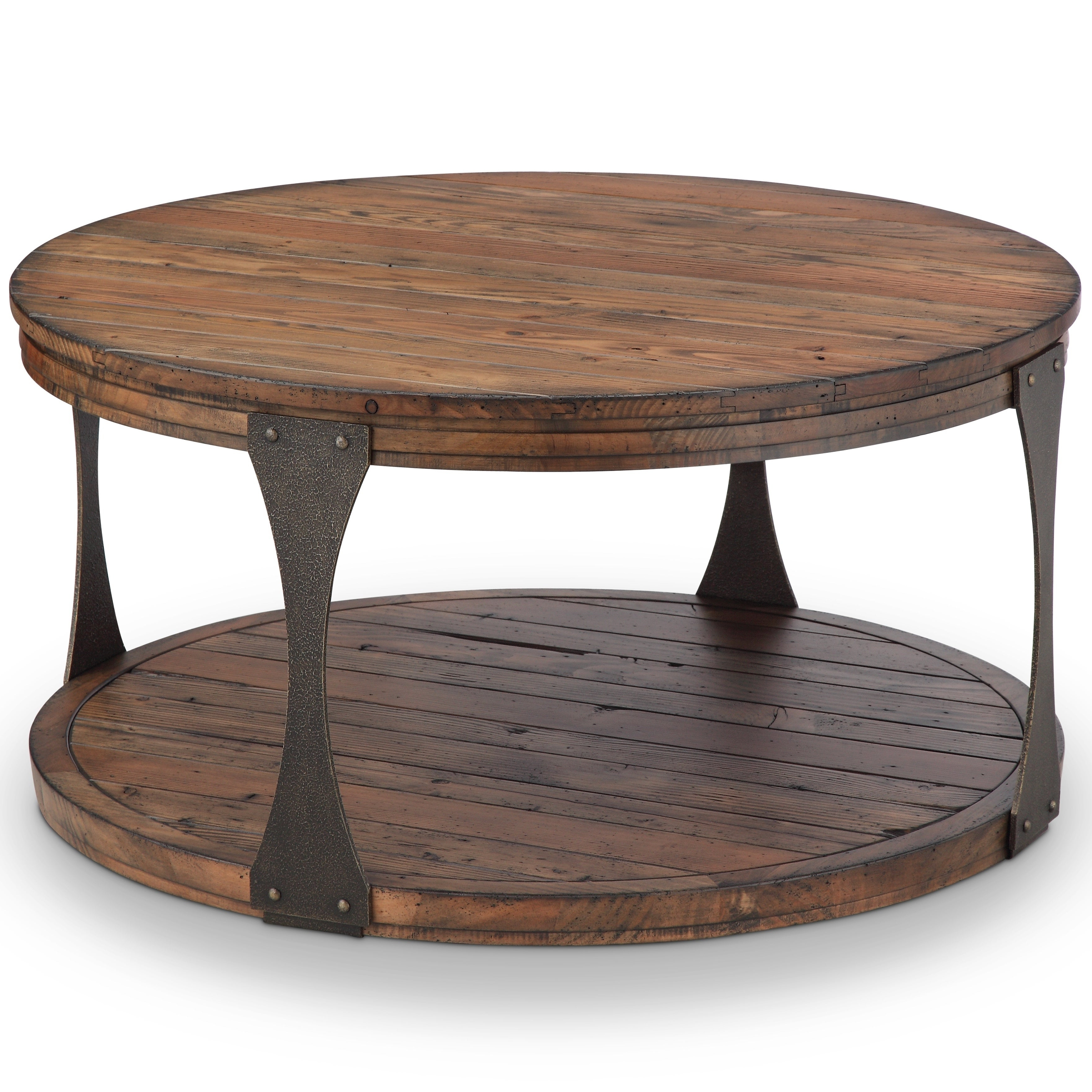 Featured Photo of Montgomery Industrial Reclaimed Wood Coffee Tables With Casters