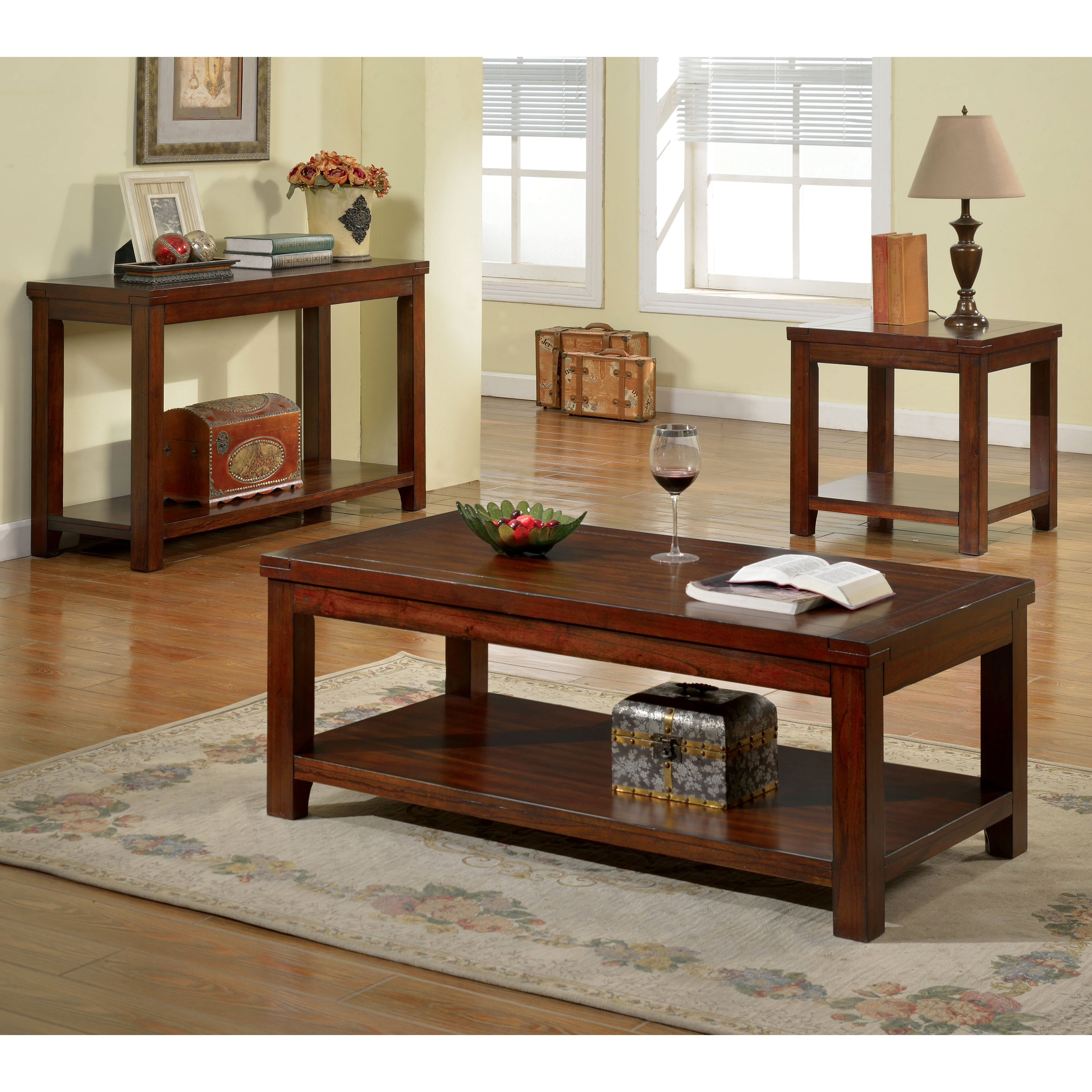 Most Current Copper Grove Bowron Dark Cherry Coffee Tables With Copper Grove Bowron Dark Cherry Coffee Table (View 14 of 20)