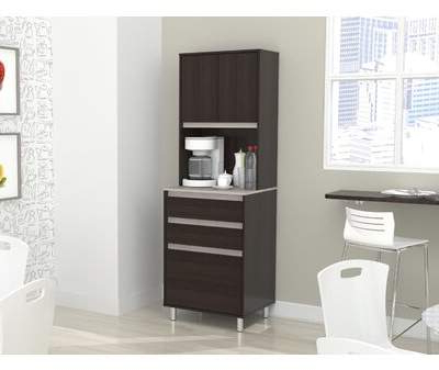 "Most Current Ebern Designs Suniga Breakroom 71"" Kitchen Pantry Ebern Designs In Burbury Kitchen Pantry (View 13 of 20)"