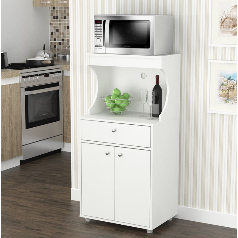 """Most Current Elliana Storage 50"""" Kitchen Pantry Pertaining To Kidd Kitchen Pantry (View 10 of 20)"""
