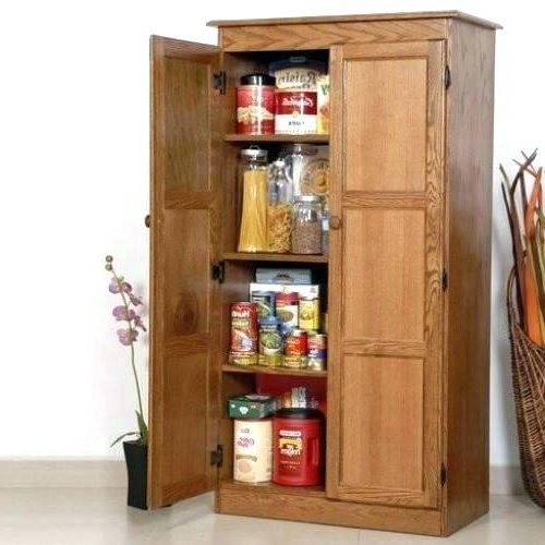 Most Current Kitchen Stand Alone Pantry – Elzalancon (View 11 of 20)