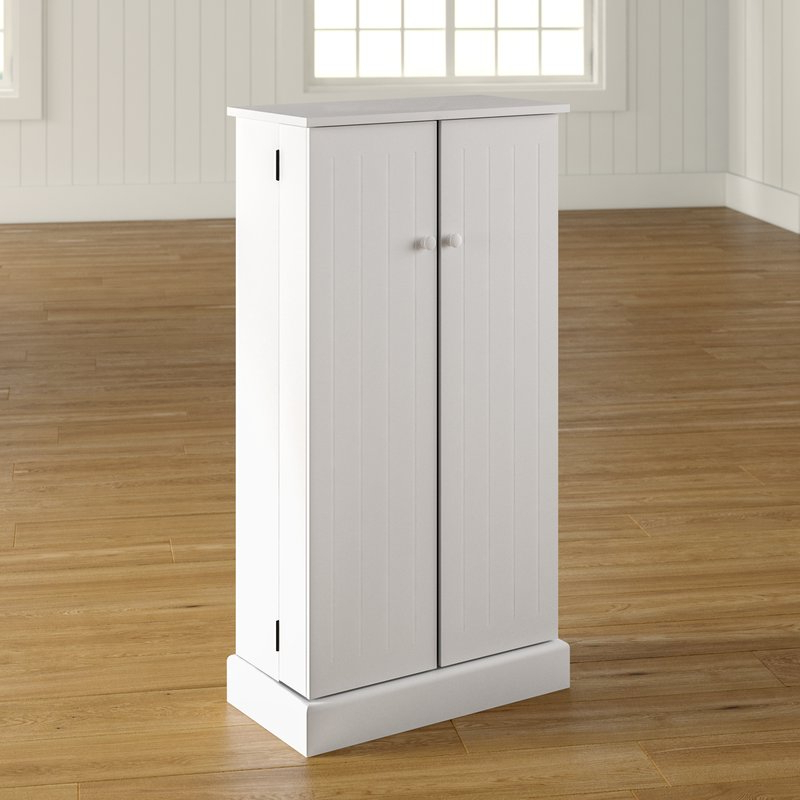 """Most Current Teegarden 41"""" Kitchen Pantry With Regard To Blairwood Kitchen Pantry (View 16 of 20)"""