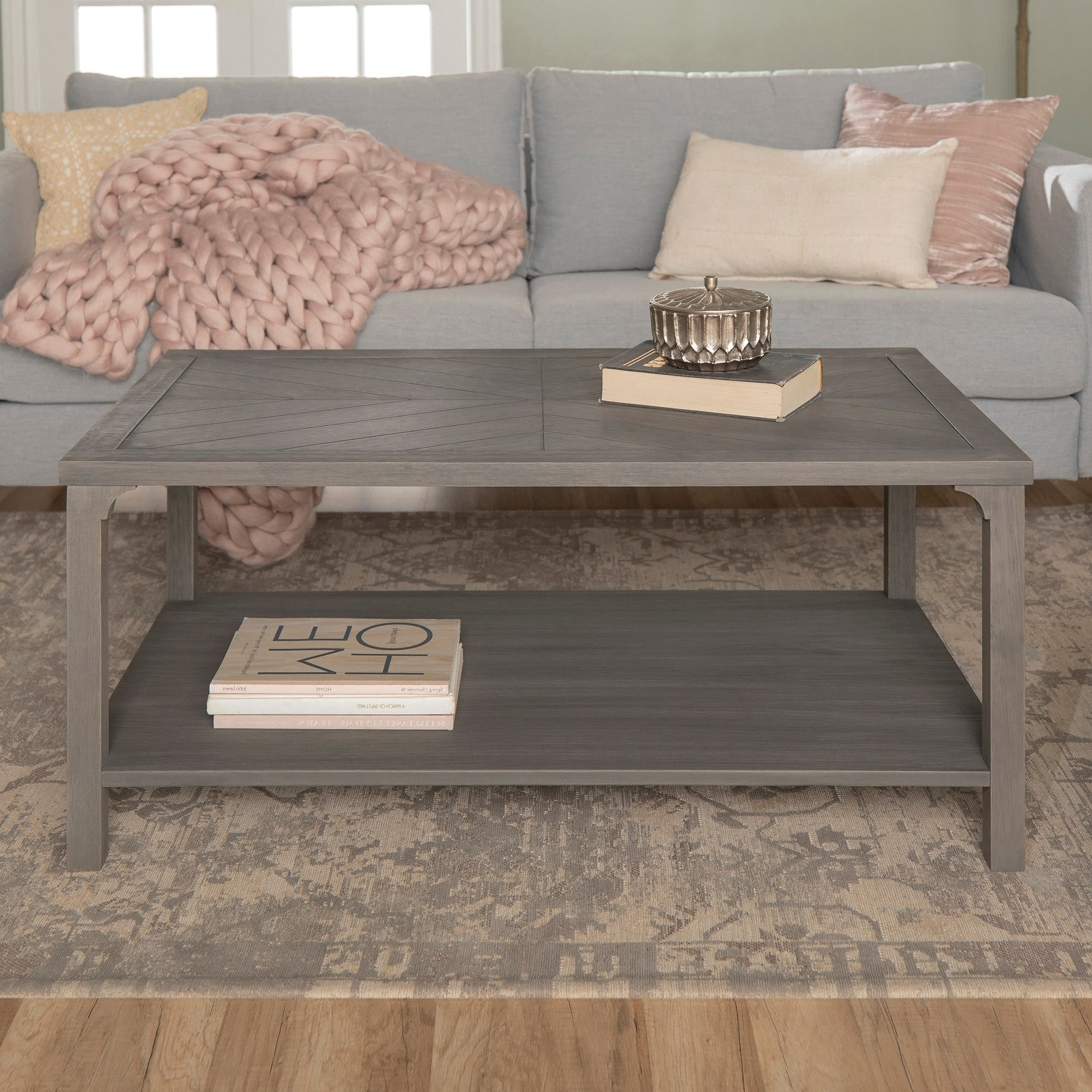 Most Current The Gray Barn Kujawa Metal X Coffee Tables – 40 X 22 X 18h Within The Gray Barn Kujawa Chevron Coffee Table – 42 X 24 X 18h (View 14 of 20)