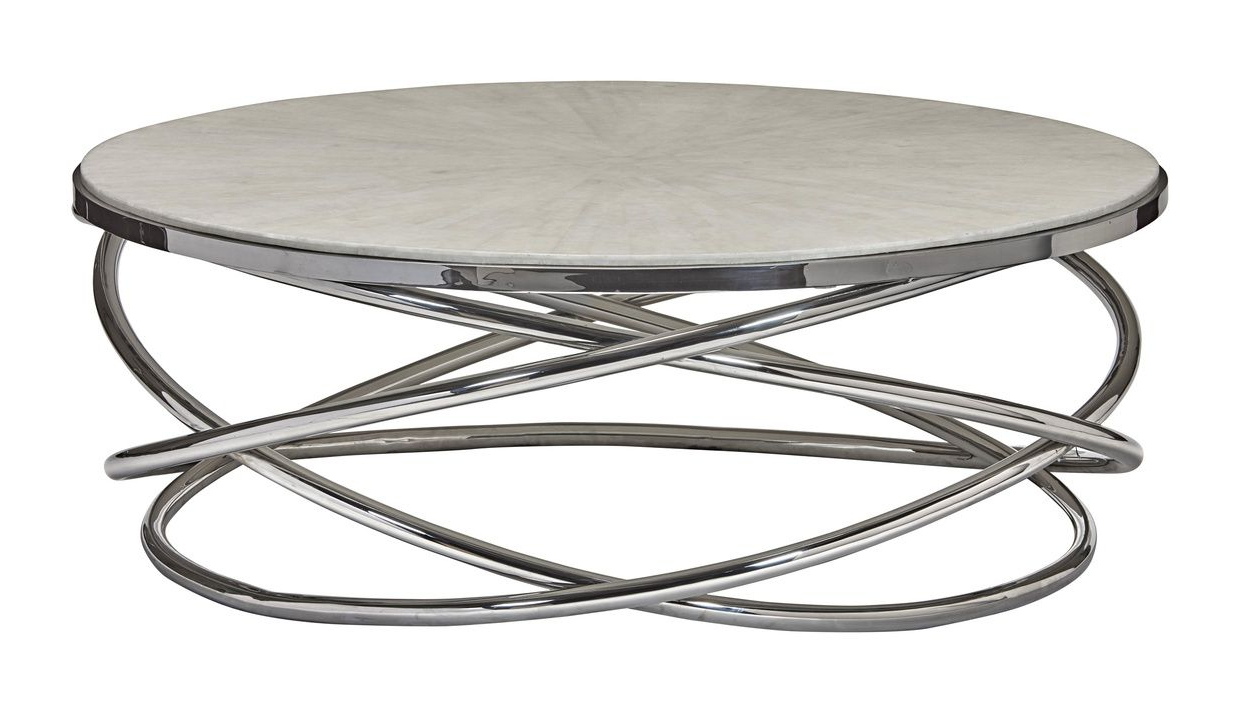 Most Current Tribeca Contemporary Distressed Silver And Smoke Grey Coffee Tables In Equinox Cocktail Table (View 7 of 20)
