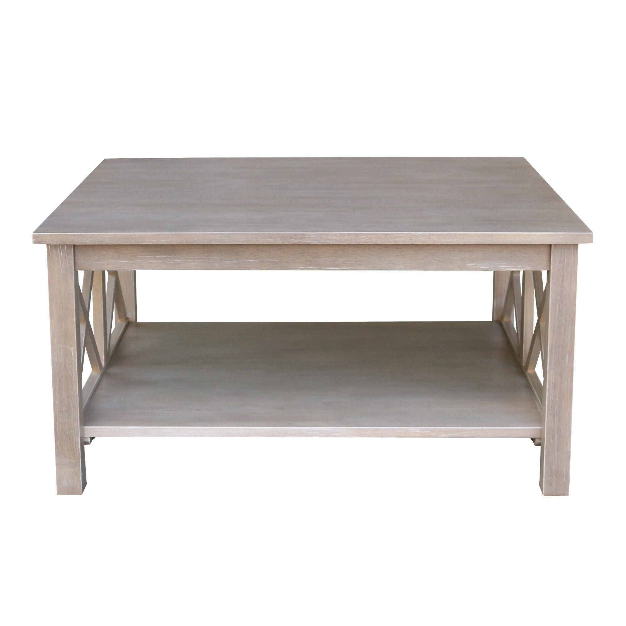 Most Popular 'hampton' Unfinished Solid Parawood Square Coffee Tables With Regard To International Concepts Hampton Square Coffee Table (View 2 of 20)
