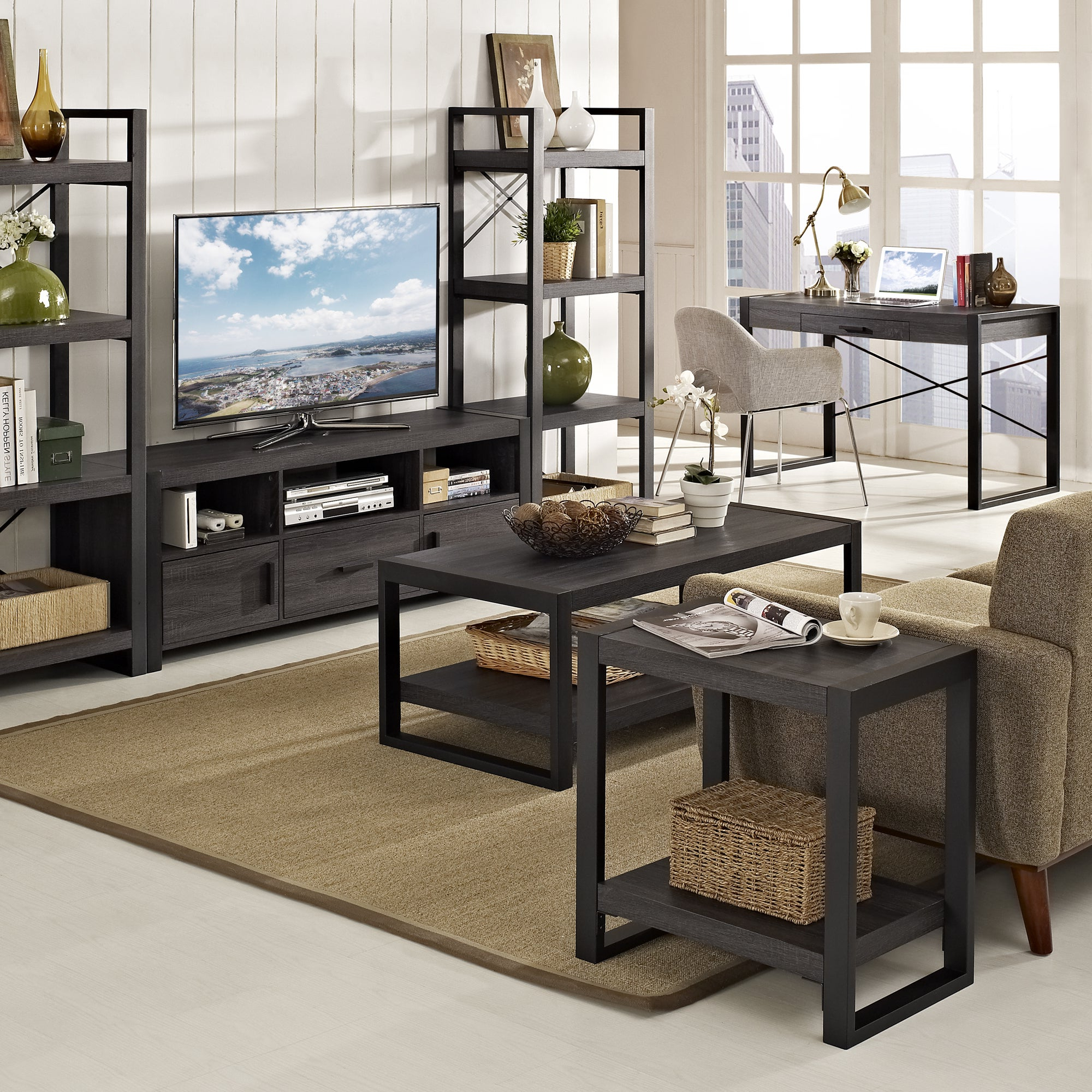 Most Popular Carbon Loft Hamilton 48 Inch Coffee Tables With Carbon Loft Hamilton 24 Inch Side Table – 24 X 16 X 24H (View 12 of 20)