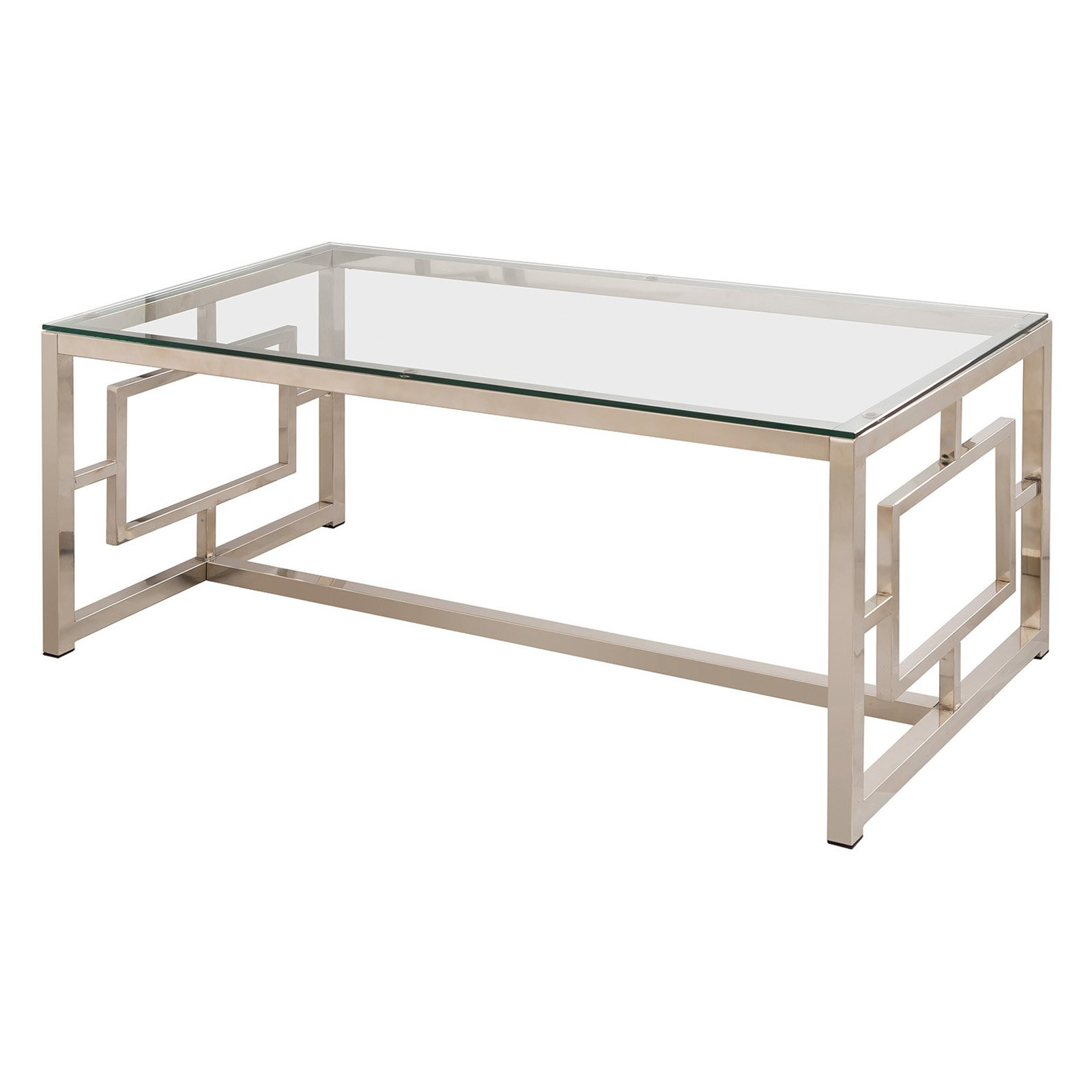 Most Popular Coaster Company Silver Glass Coffee Tables With Coffee Table : Contemporary Glass Round Wood And Tables (View 18 of 20)