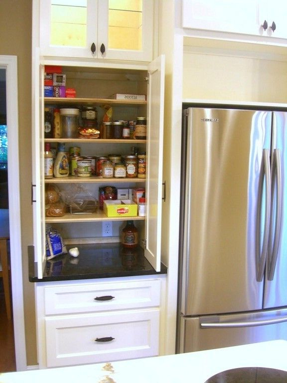 Most Popular Renteria Kitchen Pantry Within Image Result For Corner Pantry Storage (View 14 of 20)