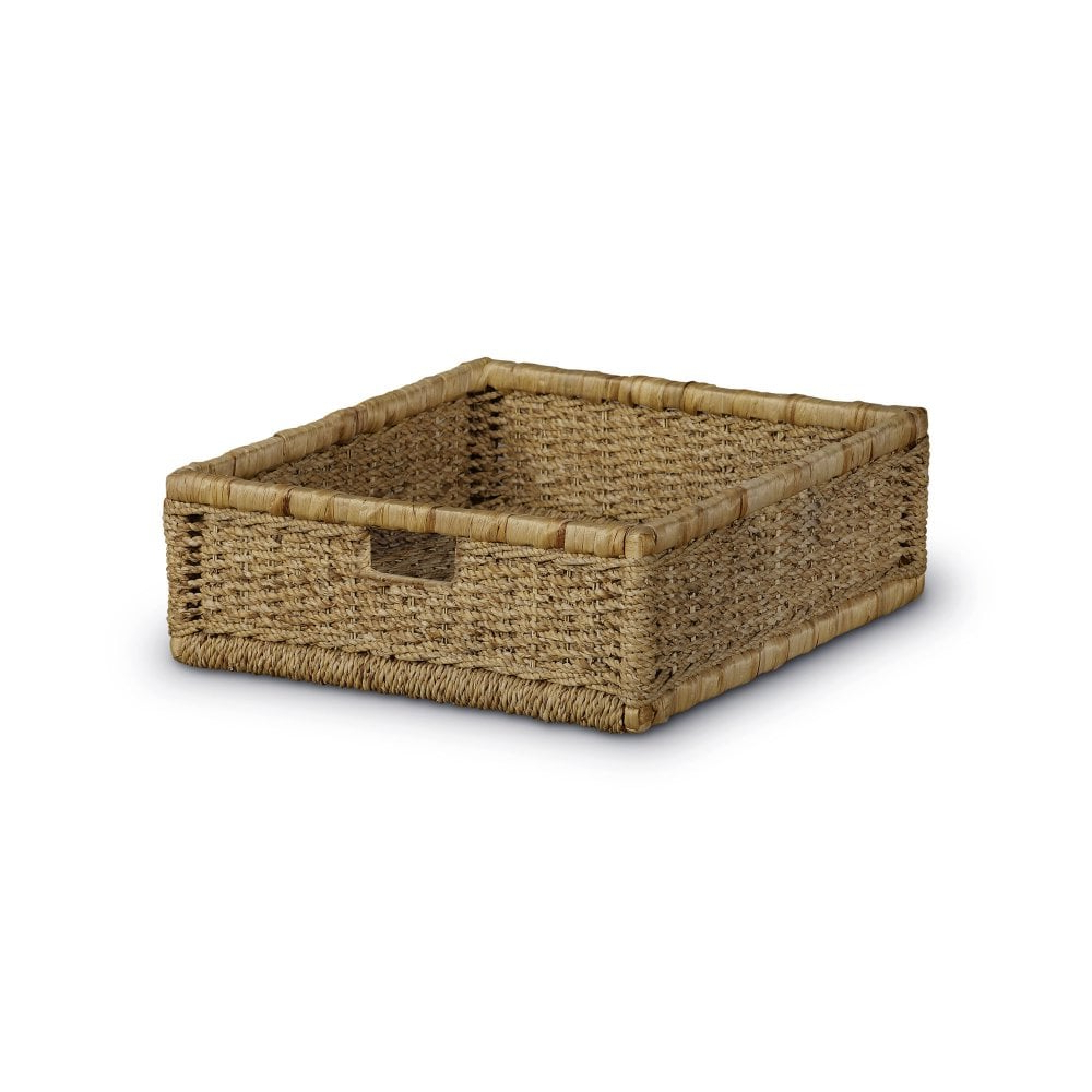 Most Popular Rustic Coffee Tables With Wicker Storage Baskets Throughout Aspen Rustic Pine Pair Of Storage Baskets (View 13 of 20)