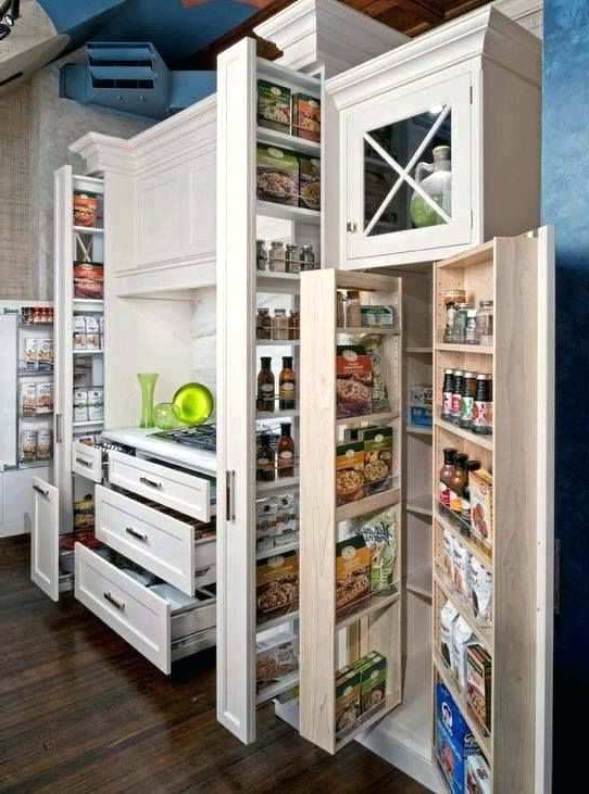 Most Popular Short Kitchen Pantry Cabinet Rustic Full Doors Ki With Regard To Mihika Kitchen Pantry (View 10 of 20)