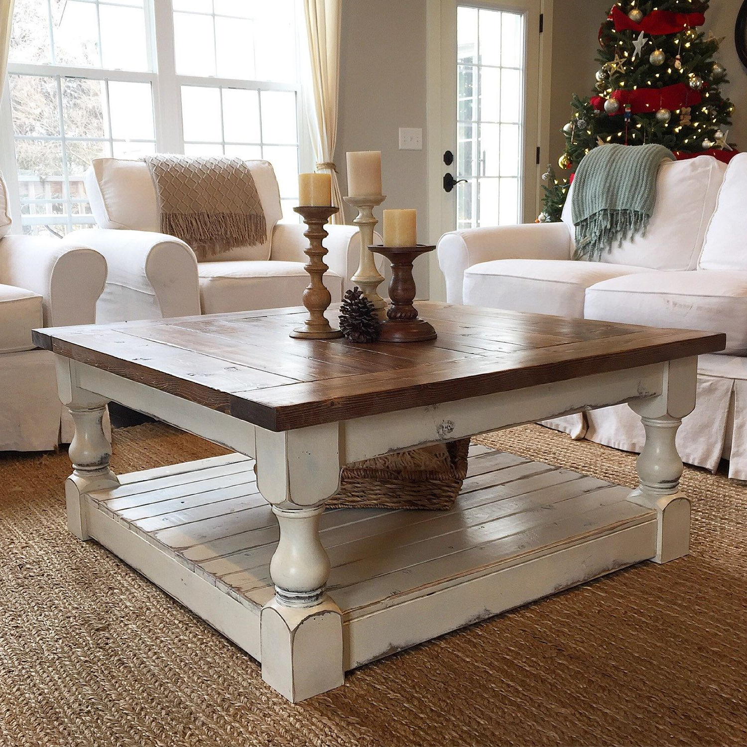 Most Recent Seaside Lodge Coffee Tables Pertaining To Attractive Square White Coffee Table And Home Styles Seaside (View 7 of 20)