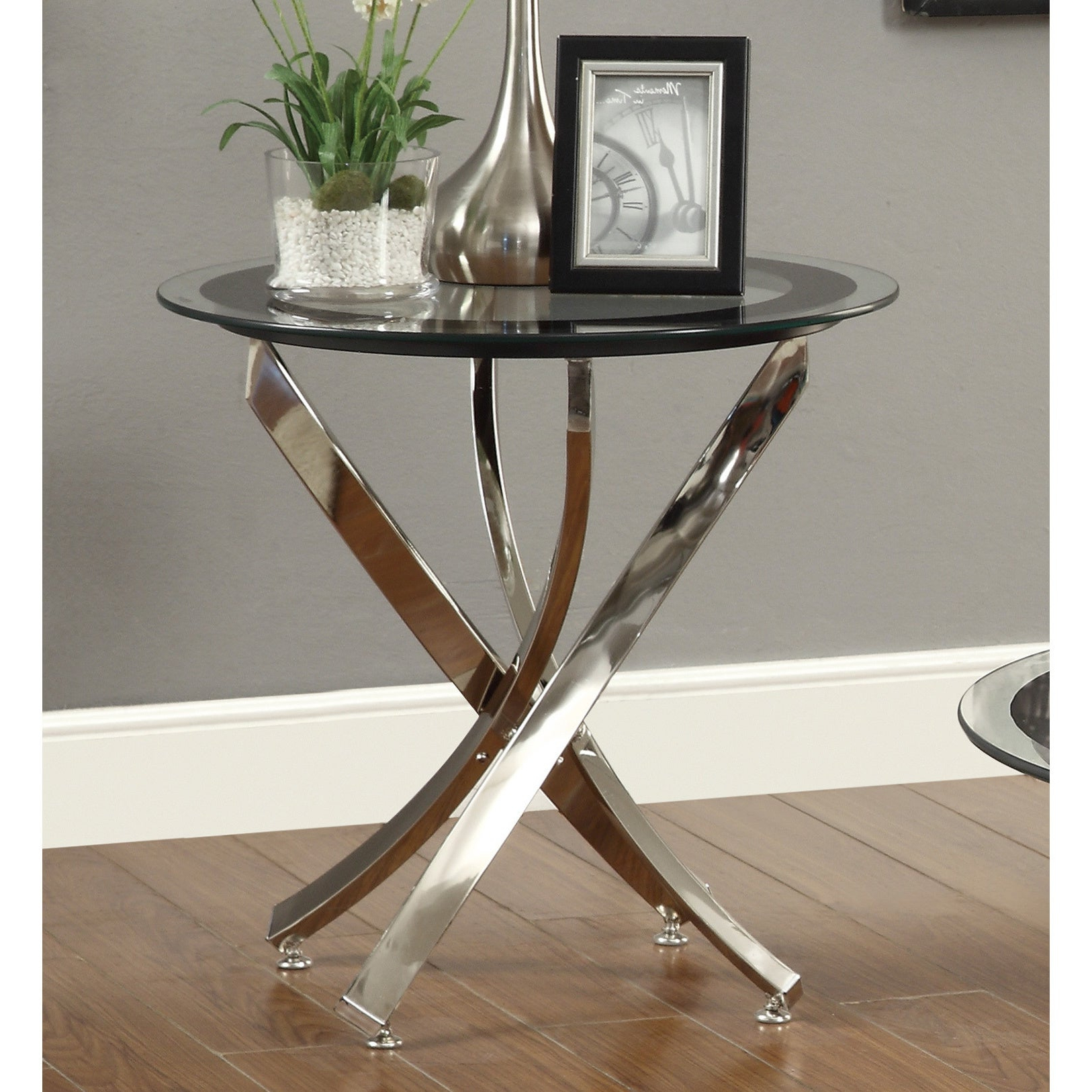 Most Recent Strick & Bolton Jules Chrome And Glass Coffee Tables Intended For Buy Strick & Bolton Coffee, Console, Sofa & End Tables (View 15 of 20)