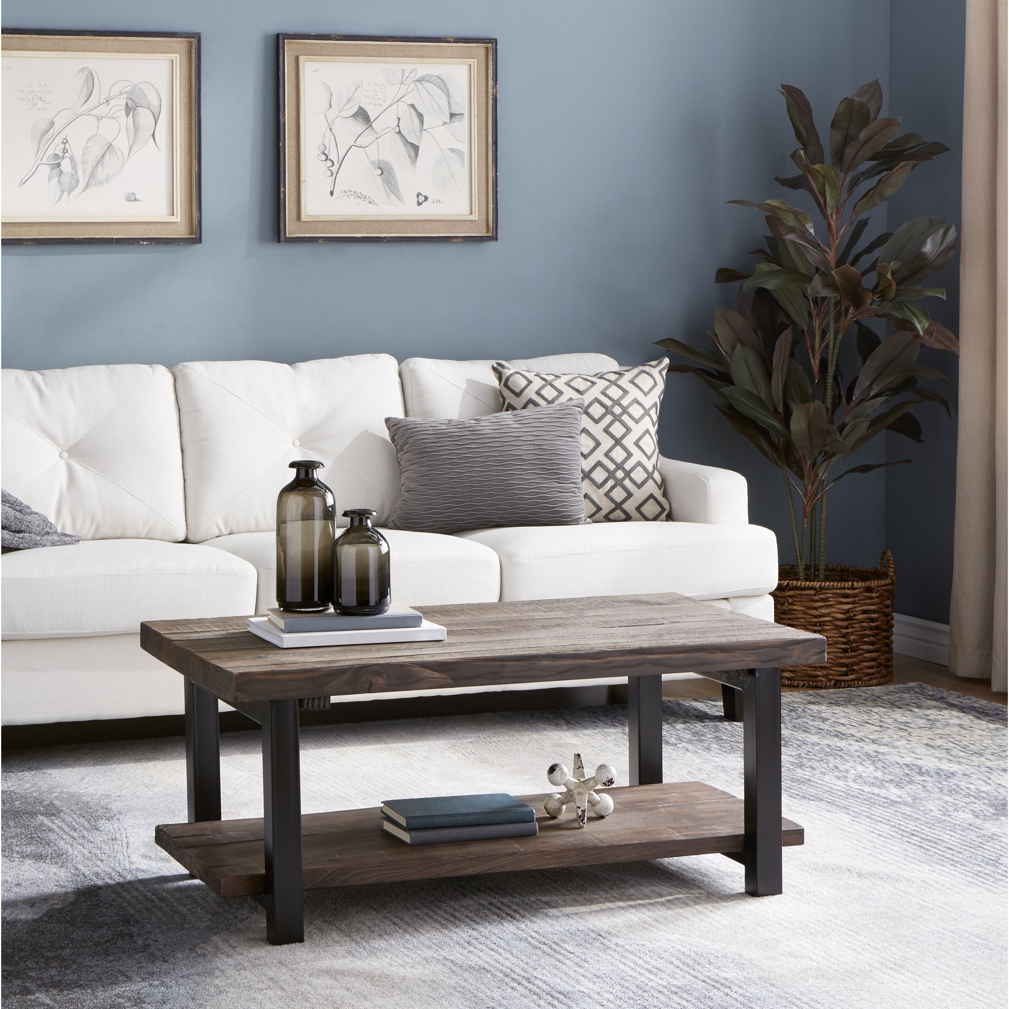 Most Recently Released Carbon Loft Lawrence Reclaimed Wood 42 Inch Coffee Tables Pertaining To Carbon Loft Lawrence Reclaimed Wood 42 Inch Coffee Table (View 14 of 20)
