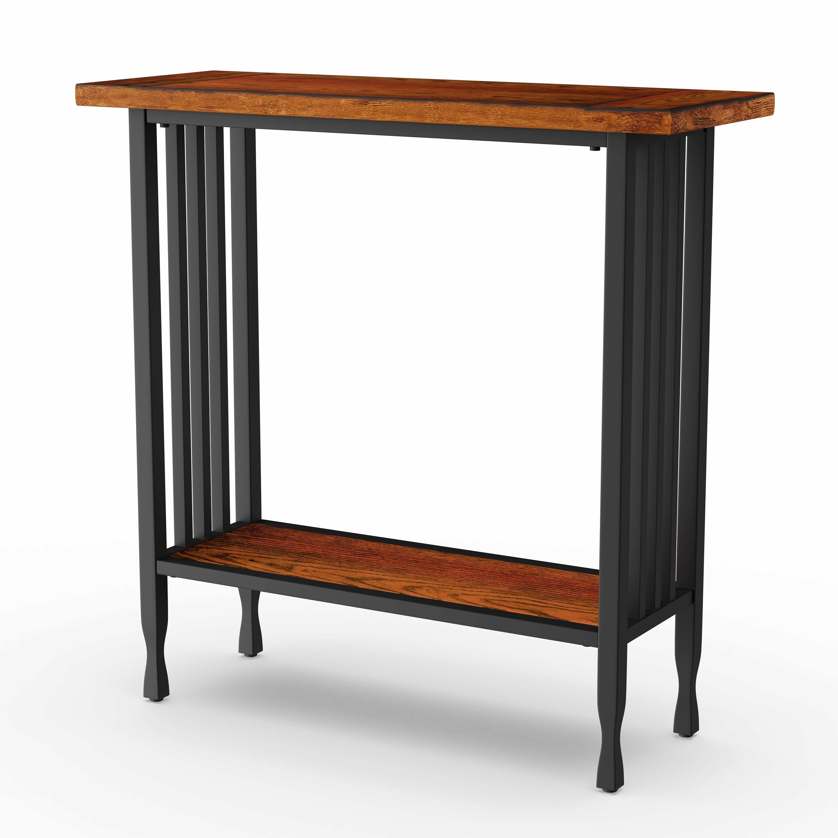 Most Recently Released Carbon Loft Peter Matte Black Slatted Coffee Tables Regarding Carbon Loft Peter Matte Black Slatted Narrow Chairside Table (View 2 of 20)