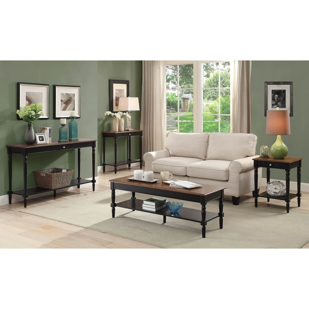 Most Recently Released Copper Grove Lantana Coffee Tables Pertaining To Copper Grove Lantana Wooden Two Tone Coffee Table (View 14 of 20)