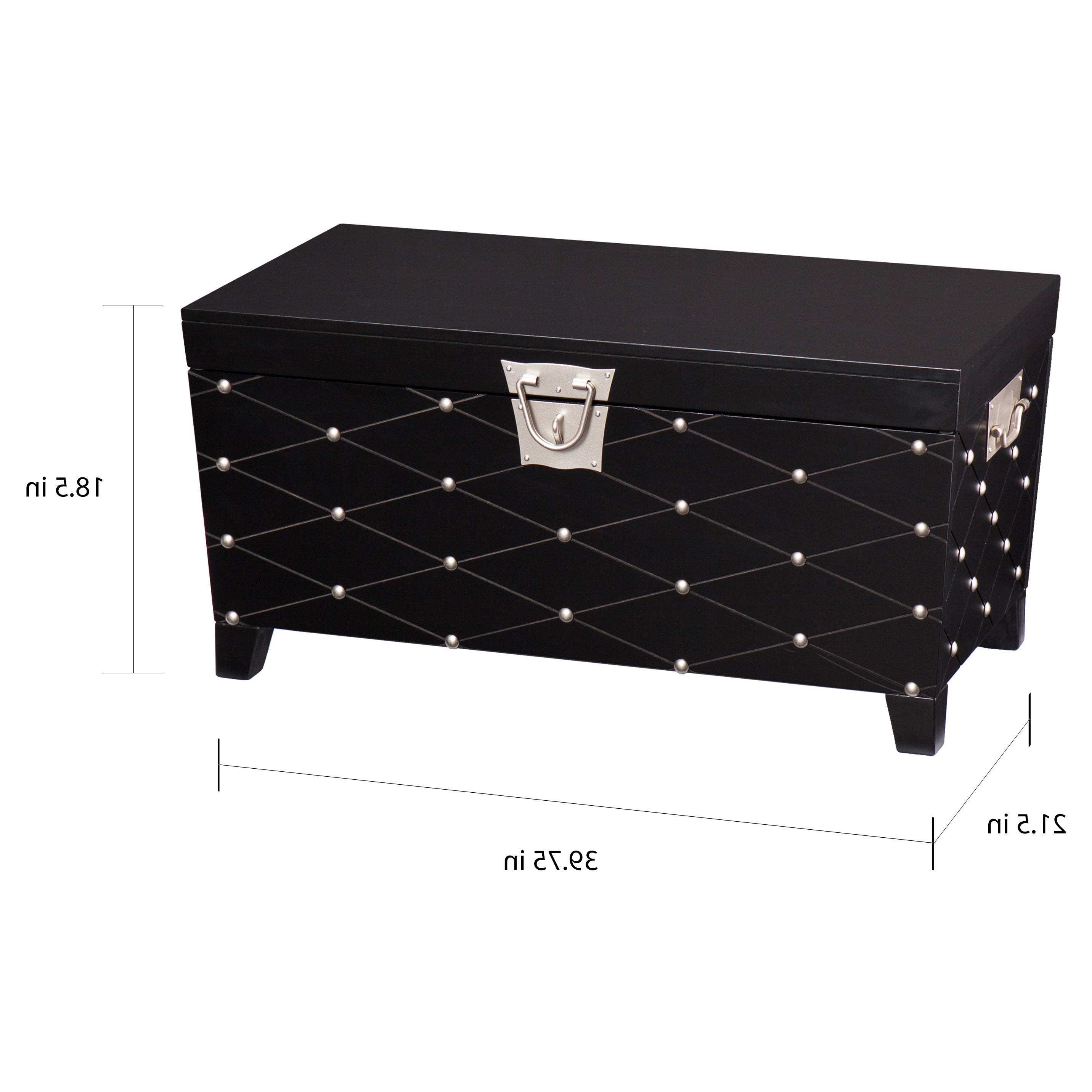 Most Recently Released Copper Grove Liatris Black And Satin Silver Coffee Tables Throughout Copper Grove Liatris Black And Satin Silver Coffee/ Cocktail Table Trunk (View 15 of 20)