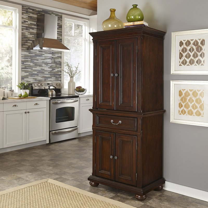 "Most Recently Released Givens 72"" Kitchen Pantry In Ridenhour Kitchen Pantry (View 7 of 20)"