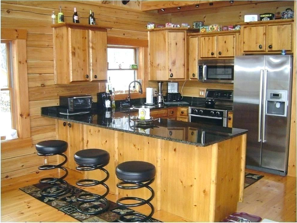 Most Recently Released Knotty Pine Kitchen Cabinets For Ramon Kitchen Pantry (View 12 of 20)