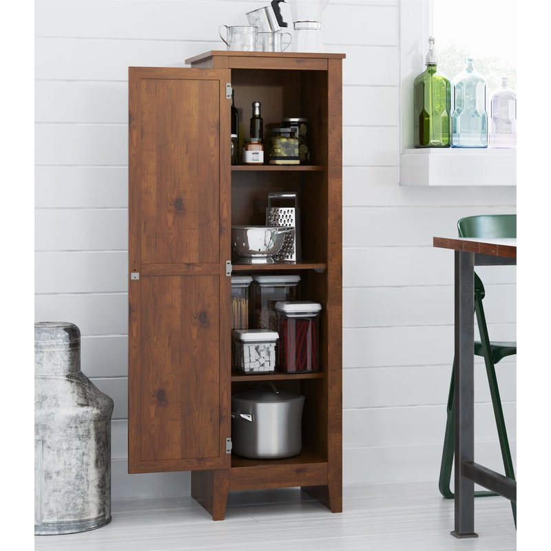 """Most Recently Released Olivas 60"""" Kitchen Pantry For Olivas Kitchen Pantry (View 10 of 20)"""